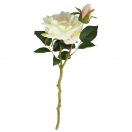 Dakls Umělá rozkvetlá Růže, bílá