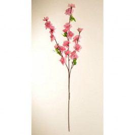 Umělá větvička Broskvoň růžová, 65 cm