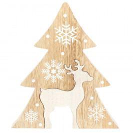 Vánoční dřevěný stromek Renna, hnědá