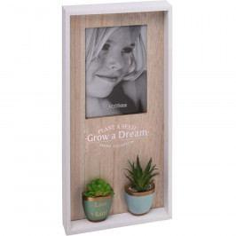 Koopman Fotorámeček Little Garden, 40 x 20 cm Rámečky na fotky
