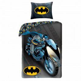 Halantex Bavlněné povlečení Batman 4005, 140 x 200 cm, 70 x 90 cm