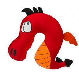 Modom Dětský cestovní polštářek Comic Animal red, 27 x 25 cm