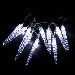 Světelný řetěz Rampouchy 12 cm, 10 LED