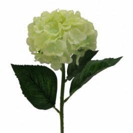 Umělá květina Hortenzie, světle zelená Umělé květiny
