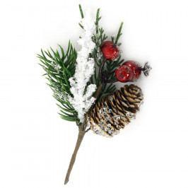 Autronic Větvička vánoční ojíněná , umělá dekorace PRZ3190