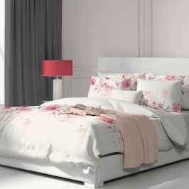 Kvalitex Bavlněné povlečení Tanea růžová, 240 x 200 cm, 2 ks 70 x 90 cm