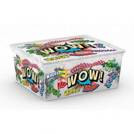 KIS Plastový úložný box C-Box Comics M 18 L