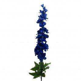 Umělá květina Delphinium, modrá