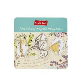 Set notýsku na poznámky se 3 magnety Roald Dahl by Portico Designs