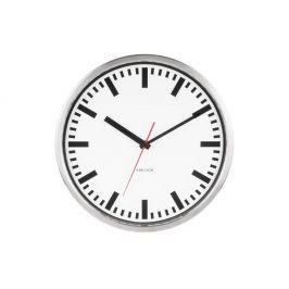 Nástěnné hodiny Karlsson Station, ø29 cm