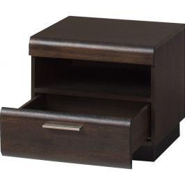 Noční stolek Szynaka Meble Porti Dark Chocolate