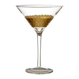 Sada 2 sklenic na cinzano z ručně foukaného skla Premier Housewares Astrid, 2,5 dl