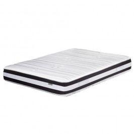 Tmavě šedo-bílá matrace Stella Cadente Mars, 180x200 cm
