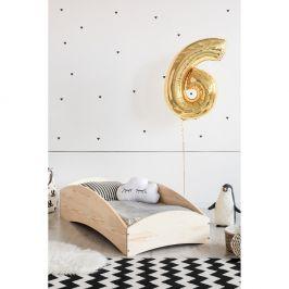 Dětská postel z borovicového dřeva Adeko BOX 6, 80x190 cm