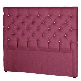Růžové čelo postele Stella Cadente Pegaz, 180x118 cm