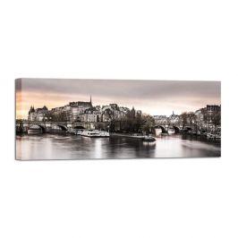 Obraz Styler Canvas Paris City, 60 x 150 cm