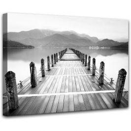 Obraz Styler Canvas Harmony Molo V, 75 x 100 cm