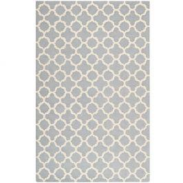 Šedý koberec Safavieh Bessa, 182x121cm