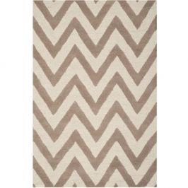 Béžový koberec Safavieh Stella, 182x121cm