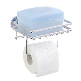 Samodržící stojan na toaletní papír s poličkou Wenko Express-Loc Cali