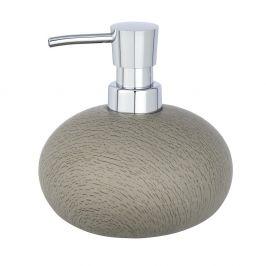 Šedohnědý cementový dávkovač mýdla Wenko, 300 ml