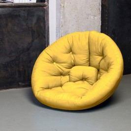Variabilní křeslo Karup Design Nest Yellow