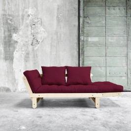 Variabilní pohovka Karup Design Beat Natural Clear/Bordeaux