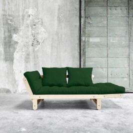 Variabilní pohovka Karup Design Beat Natural Clear/Dark Green