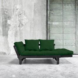 Variabilní pohovka Karup Design Beat Black/Dark Green