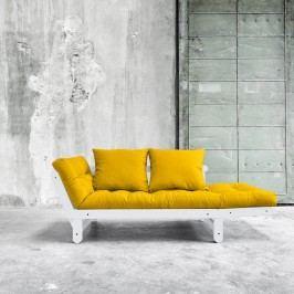 Variabilní pohovka Karup Design Beat White/Yellow