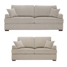 Dvoudílná sedací souprava Jalouse Maison Irina, taupe