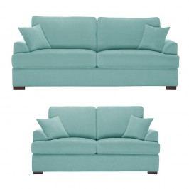 Dvoudílná sedací souprava Jalouse Maison Irina, mentolová