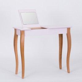 Růžový toaletní stolek se zrcadlem Ragaba Dressing Table,délka85cm
