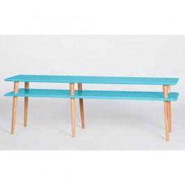 Tmavě tyrkysový konferenční stolek Ragaba Mugo,délka159cm