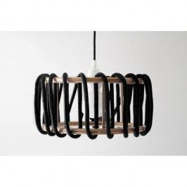 Černé stropní svítidlo EMKO Macaron, ø 45 cm