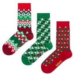 Dárková sada ponožek Ballonet Socks Christmas, velikost 41-46