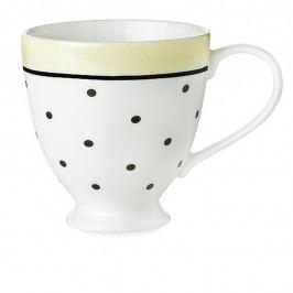 Keramický hrnek Miss Étoile Black Dots And Lemon