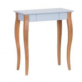 Světle šedý psací stůl Ragaba Lillo,délka65 cm