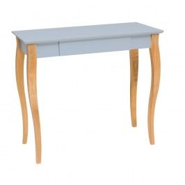 Světle šedý psací stůl Ragaba Lillo,délka85 cm