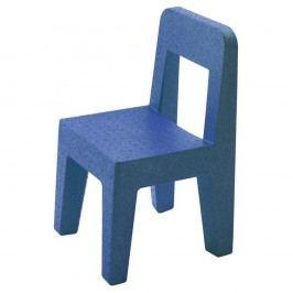 Dětská modrá židle Magis Seggiolina Pop