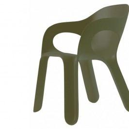 Zelená stohovatelná židle Magis Easy