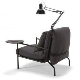 Sada lampy a stolku ke křeslu Innovation Noir a pohovce Neat