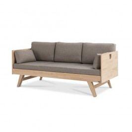 Ručně vyráběná konstrukce rozkládací pohovky z masivního březového dřeva Kiteen Notte, 190x75cm