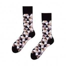 Ponožky Many Mornings Coffee Triangles,vel.39–42