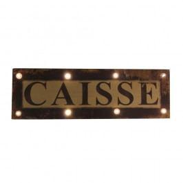 Svítící cedule Antic Line Caisse