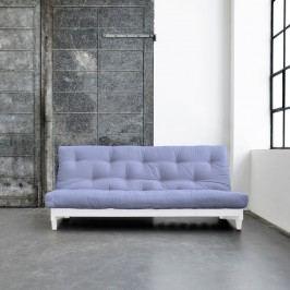 Rozkládací pohovka Karup Fresh White/Blue Breeze