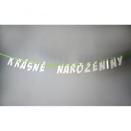 Narozeninová girlanda Unlimited Design for kids