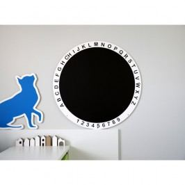 Kulatá tabule na kreslení Unlimited Design for kids, ø79cm