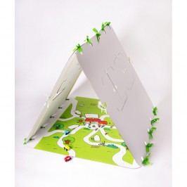 Domeček Unlimited Design for kids Zelená silnice