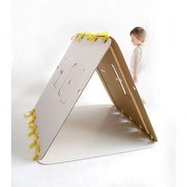 Domeček Unlimited Design for kids Žlutá stuha